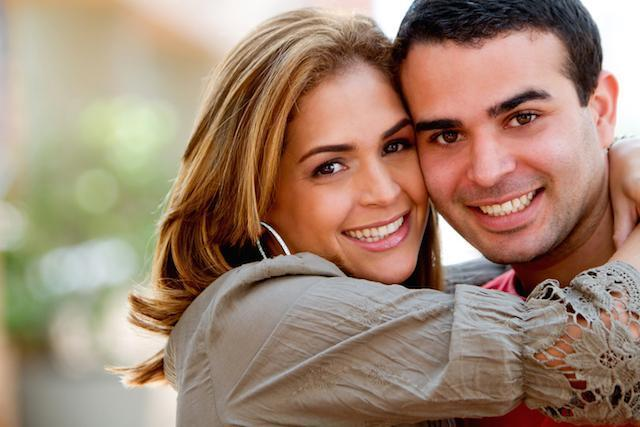smiling couple | dental bridges prairieville la