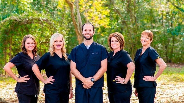 the team at Palm Family Dentistry